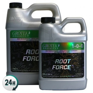 Garrafas de Root Force Organics