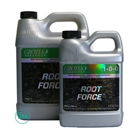 Garrafas de Root Force Organics
