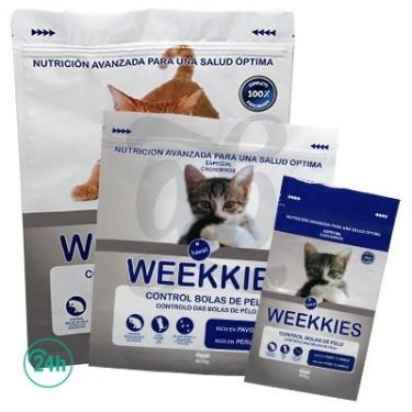 Bolsas ocultación hermetica pienso gatos