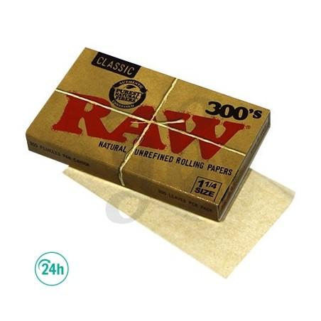 Papier à Rouler Raw 300's 1.¼