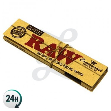 RAW Connoisseur King Size Paper - closed