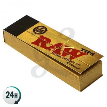 Caja boquillas de cartón Raw