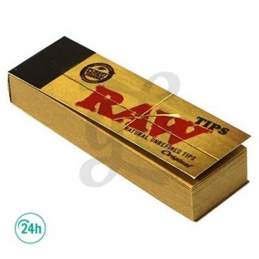 Boquillas de cartón Raw - Caja de Tips Raw