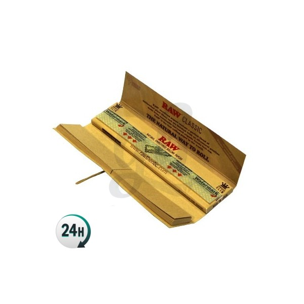RAW Connoisseur King Size Paper with Tips
