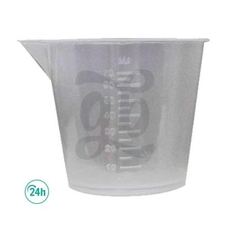 Vasos Medidores de varios tamaños en ml.
