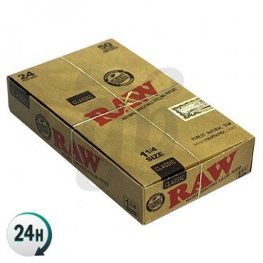 RAW Rolling Paper Size 1¼ - Boxes