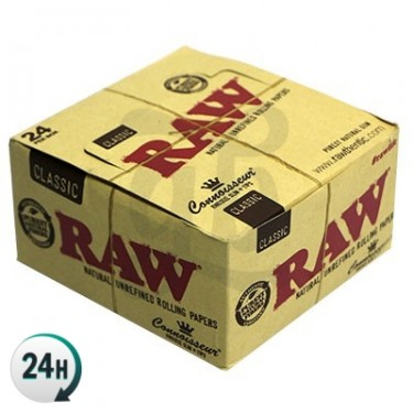 RAW Connoisseur King Size Paper booklet - Full box