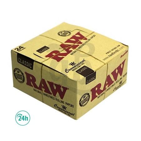 Papel Fumar Raw 25 Libros Caja Entera
