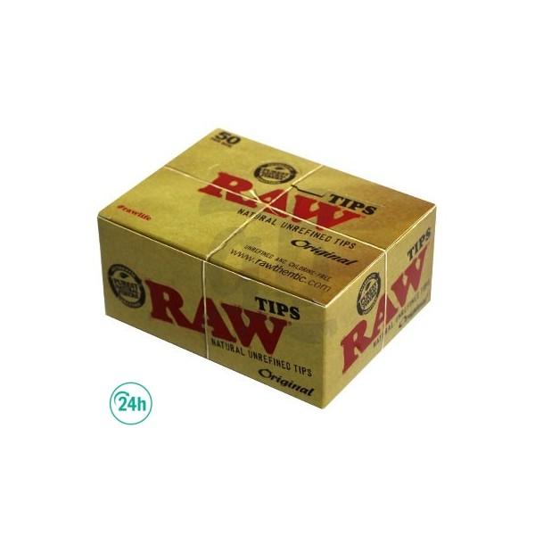Filtres de cartón Raw - Boite entière
