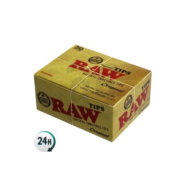 RAW Cardboard Tips Box