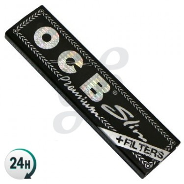 Papel de Fumar OCB Slim + Filtros Cartón
