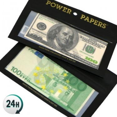 Money Printed Smoking Papers
