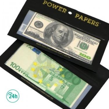 Papel de fumar billetes variados
