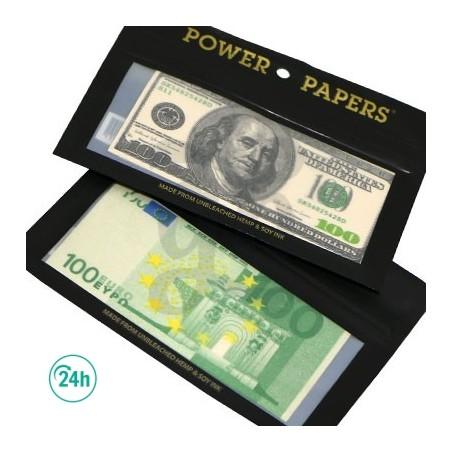 Papier à rouler design billets