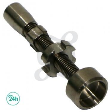 Ongles titane réglable et Adaptable à 14 mm et 18 mm