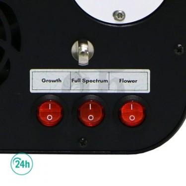 Modos distintos modelo LED 120 W