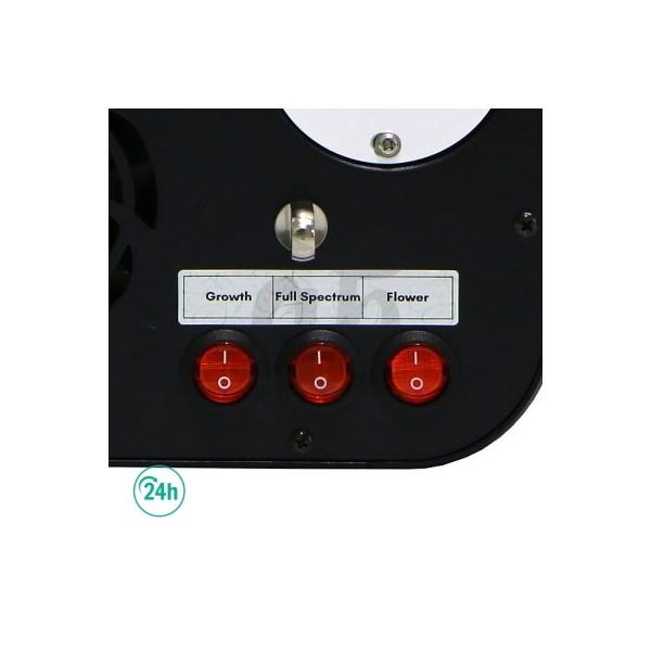 Solux Titan LED 120 W Options