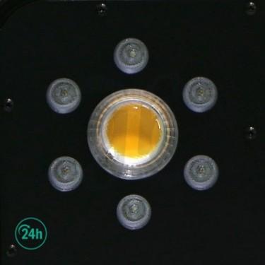 Panneau LED Solux Titan de près