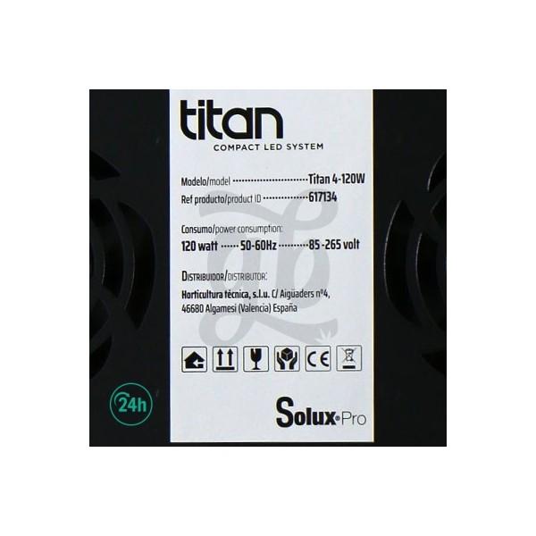 Solux Titan 120W LED data sheet