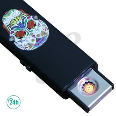 Mechero Eléctrico USB Calavera