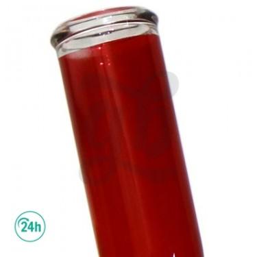 Bong de cristal con Hoja 35,5cm  Z-003