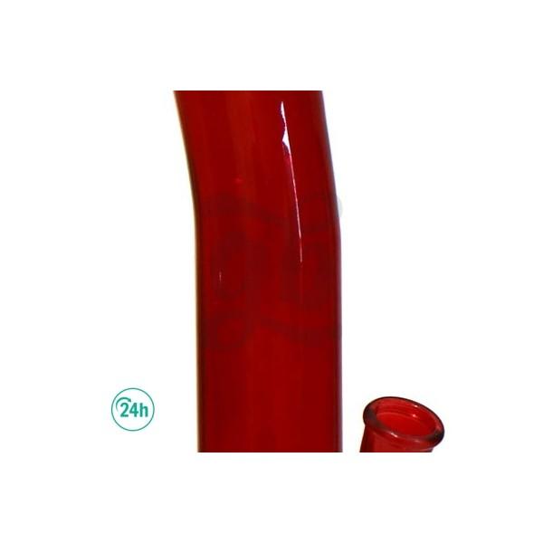 Verre de Bong avec feuille 35, 5 cm Z-003