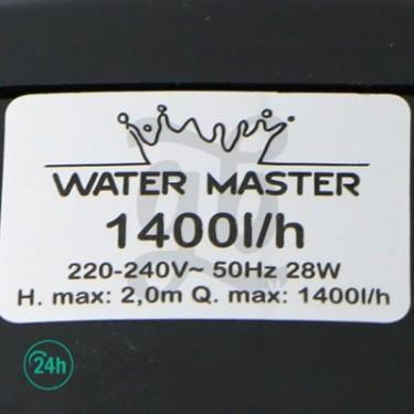 Bomba Sumergible Water Master - 1400 litros por hora - especificaciones