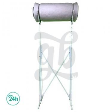 Soporte regulable para filtros antiolor