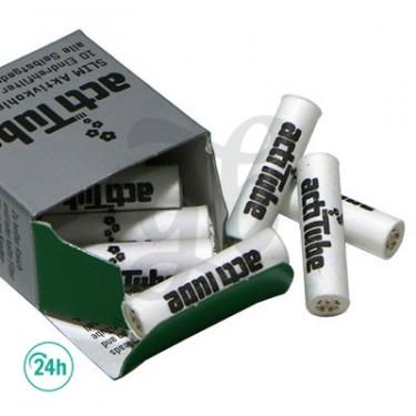 Filtres ActiTube SLIM charbon actif - boîte de 10