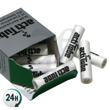 ActiTube SLIM filtros de carbón activado - Caja de 10