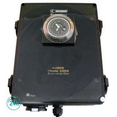 Temporisateur 4x600W
