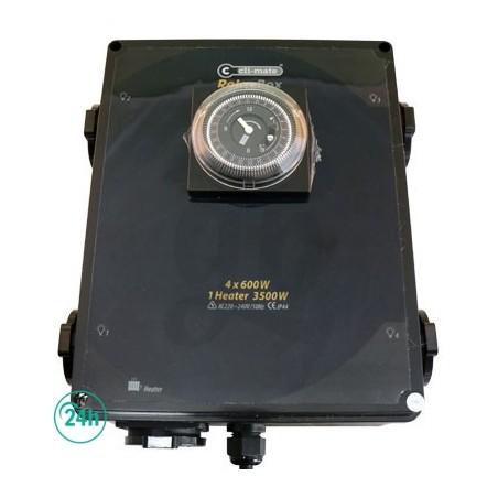 Temporizador 4 x 600w
