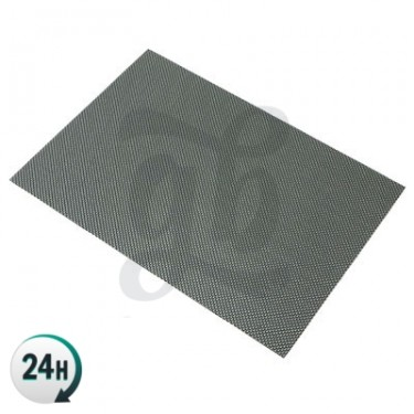Rectangular Silicone Dab Mat from behind