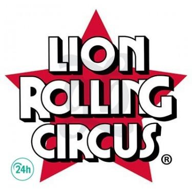Logo Lion Rolling Circus