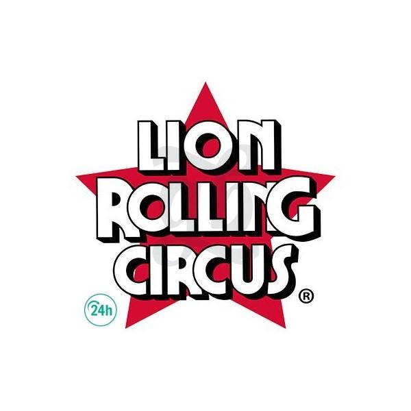 Papel Wrap Hemp de Lion Rolling Circus