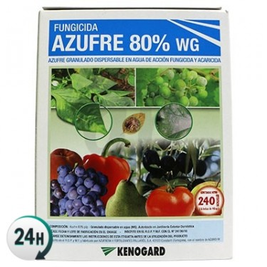 Azufre Fungicida y Acaricida Kenogard