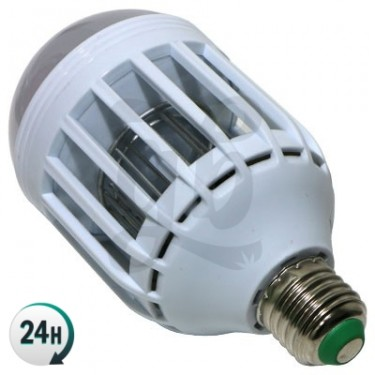 Bombilla LED Antimosquitos 2 en 1 - Rosca