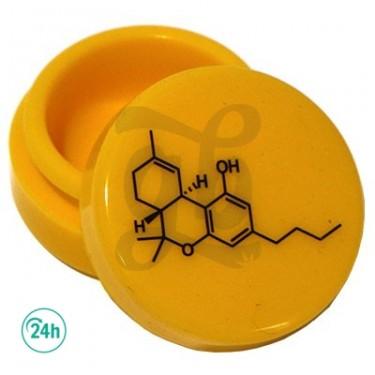 Cajitas de silicona THC