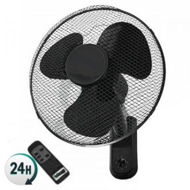 Ventilador Pared con Mando Cyclone