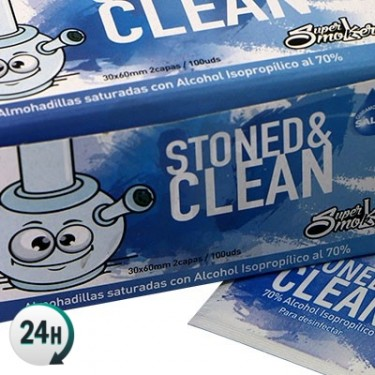 Toallitas Stoned & Clean 100 uds