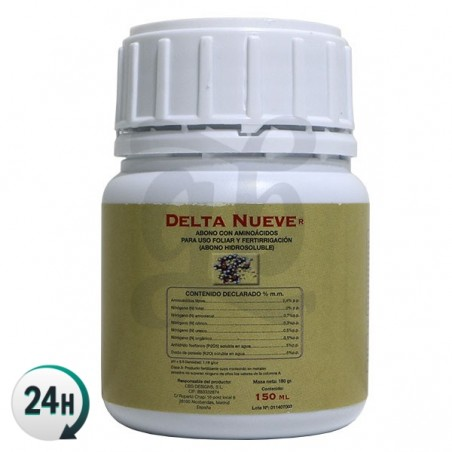 150 milliliter Delta 9 bottle