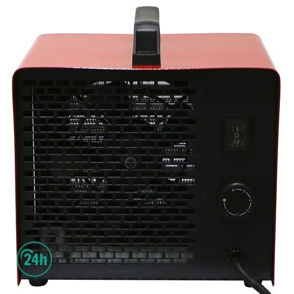 Calefactor Cerámico Por Aire Forzado detrás