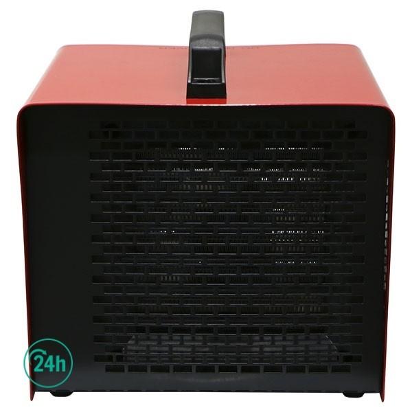 Calefactor Cerámico Por Aire Forzado delante