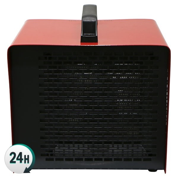 Ceramic Forced Air Heater back