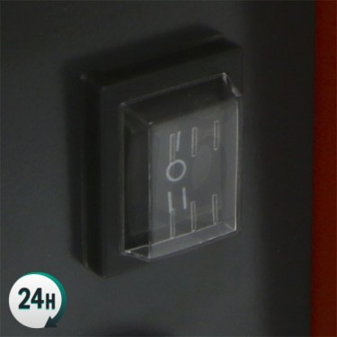 Calefactor Cerámico Por Aire Forzado interruptor