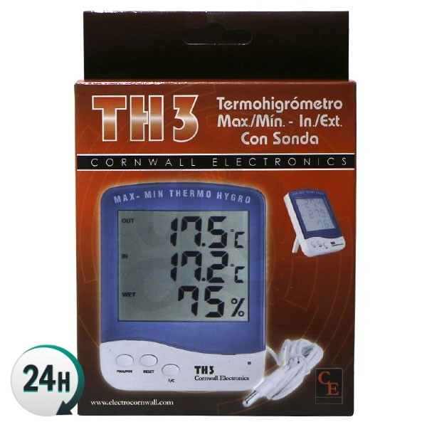 Digital Thermo-hygrometer with Sensor