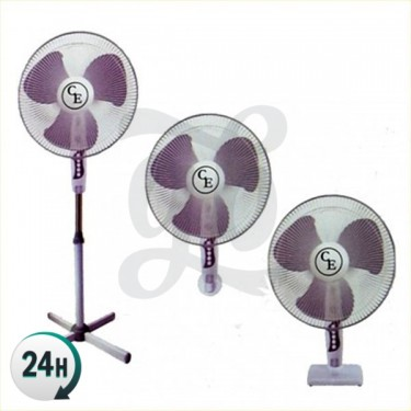 3-speed fan