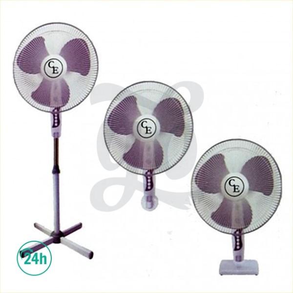 3-speed fan