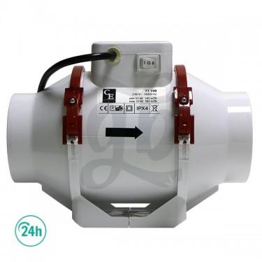 Extractor de dos velocidades de lado de 150mm