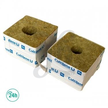 Taco lana de roca Cultilene - Agujero grande